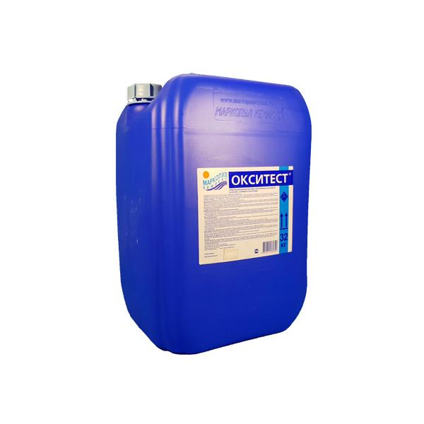 Окситест жидкий, активный кислород, канистра 30л (32 кг)