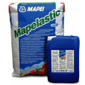 Mapei Гидроизоляционный состав Mapelastic компонент A, мешок 24 кг