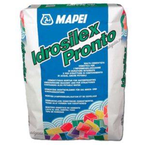 Mapei Гидроизоляционный смесь Idrosilex pronto (серый), мешок 25 кг
