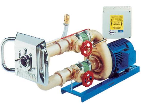 Противоток встраиваемый Fitstar Junior насосный комплект 2,6 кВт 380 B
