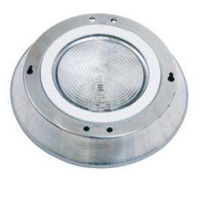 Прожектор накладной из нерж. стали (2х75Вт/12В) Pahlen (122600) + 122601 (универсальный)