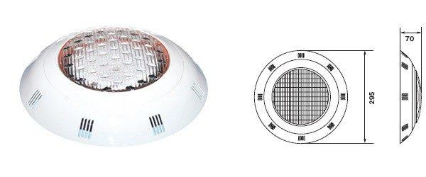 Прожектор (8Вт/12В) c LED- элементами Emaux LEDP-100 (Opus)